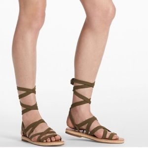 •LUCKY BRAND• Dalty Lace Up Sandal